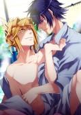 お外で裸☆欲情温泉◆