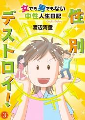 【期間限定価格】性別デストロイ!〜女でも男でもない中性人生日記〜3