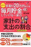 ずっと手取り20万円台でも毎月貯金していける一家の家計の「支出の割合」の本