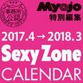 【入荷予約受付】2017.4→2018.3 SexyZoneカレンダー