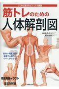 筋トレのための人体解剖図の本