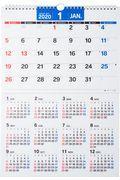 E18 エコカレンダー壁掛A3 高橋カレンダー 2020年版1月始まり 2020の本